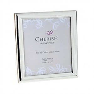 Arthur Price Photo Frame Oxford silver plated 10 x 8 inch photograph