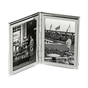 Arthur Price photo frame Silver plated double