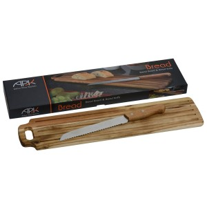 Arthur Price Kitchen Wood Table & Knife for cutting Bread