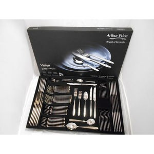 Arthur Price Vision 76 Piece Cutlery Set - ZVIS7601