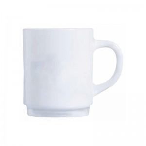 LUMINARC Carine White Mug Set of 6 - 25 cl