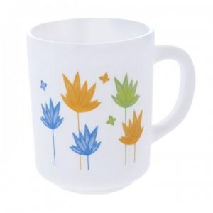LUMINARC Essence March Mug white color set of 6 pcs - 25 cl