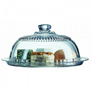 Luminarc Glass Cheese and Cake Dome Glass 27 cm