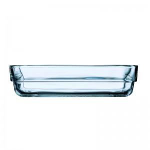 Luminarc Glass Stackable Rectangular Dish Set of 3 pcs - 14 cm