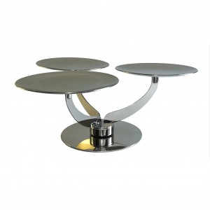 LF Revolving Stand in Stainless Steel AL046