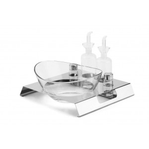 LF LUNCH SALAD STATION IN STAINLESS STEEL