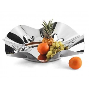 LF WORLD LARGE FRUIT BOWL IN STAINLESS STEEL