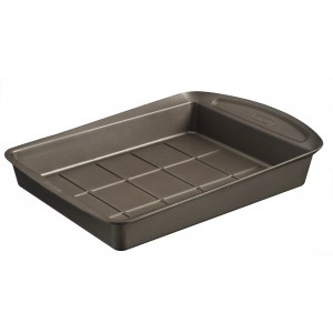Pyrex asimetriA Metal Easy-grip Brownie pan 28 x 22 cm