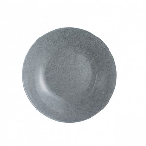LUMINARC - Light Grey Loft Stony Soup Plate