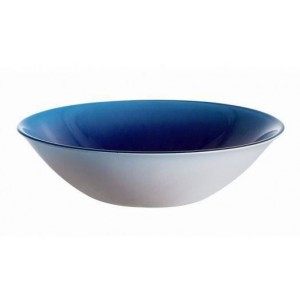 LUMINARC Blue Fizz Ice Plate Soft Color - 16 cm