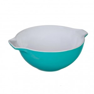 Pyrex Curves Orange Ceramic Multi Purpose bowl Green 2 L s50