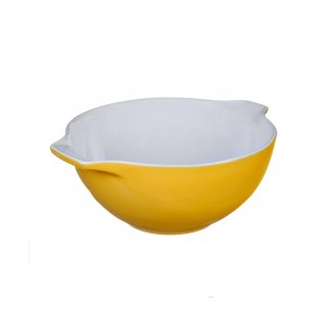 Pyrex Curves Orange Ceramic Multi Purpose bowl Yellow 0.5 L s50