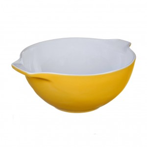 Pyrex Curves Orange Ceramic Multi Purpose bowl Yellow 2 L s50