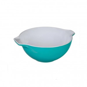 Pyrex Curves Orange Ceramic Multi Purpose bowl Green 0.5 L s50