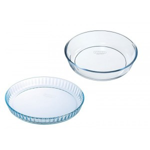 Pyrex Bake & Enjoy Glass set of 2