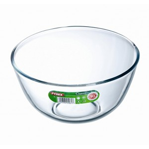 Pyrex Classic Glass Bowl High resistance 24 cm 3,0 L