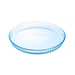 Pyrex Bake & Enjoy Glass Quiche Flan dish High resistance 26 cm