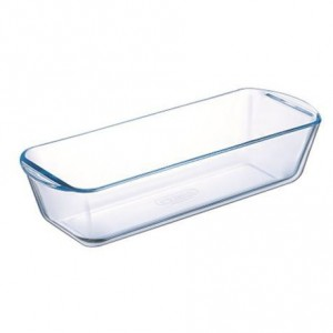 Pyrex Bake & Enjoy Glass Quiche Flan dish High resistance Loaf Dish 1.7L, 31 cm