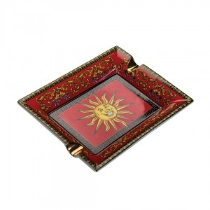 Cigar Ashtray - Red Sun Design