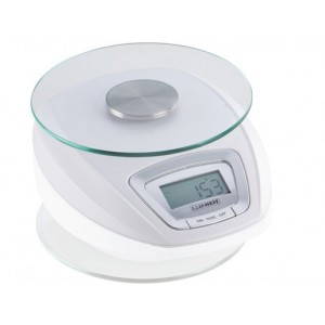 Leifheit Kitchen Scale Digital Baking Scale 5 Kg With Removable glass plate