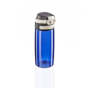 Leifheit Flip Drinking Bottle Tritan 550 ml Dark Blue