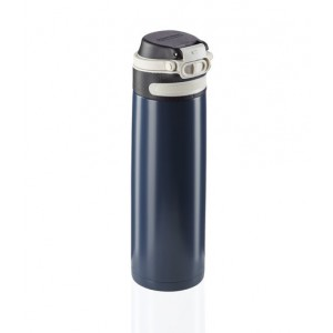Leifheit Flip Insulated Mug 600 ml Dark Dark Blue