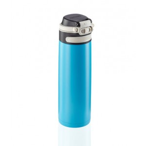Leifheit Flip Insulated Mug 600 ml Dark Light Blue