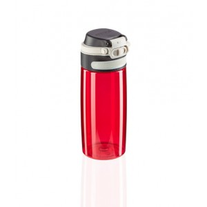 Leifheit Flip Drinking Bottle Tritan 550 Ml Red