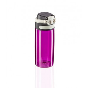 Leifheit Flip Drinking Bottle Tritan 550 Ml Purple