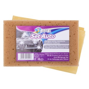 Apex Car Set - sponge + cloth