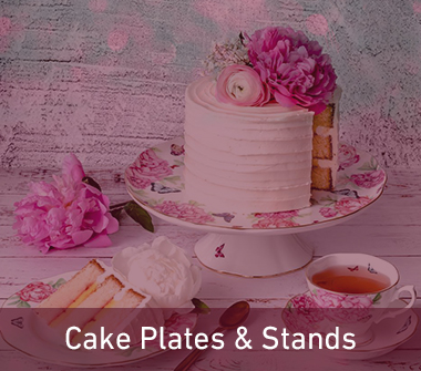 cake plates and stands
